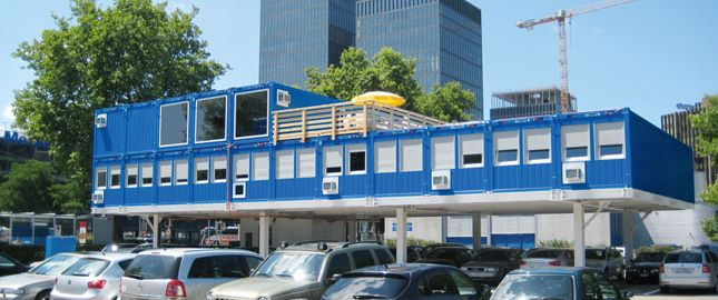 Modular building, For example - Office